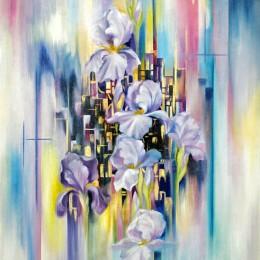 COME MUSICA, olio su tela - cm 70x50, 2011